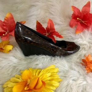 "Comfort Plus Peep Toe 2 1/2"" Wedge"
